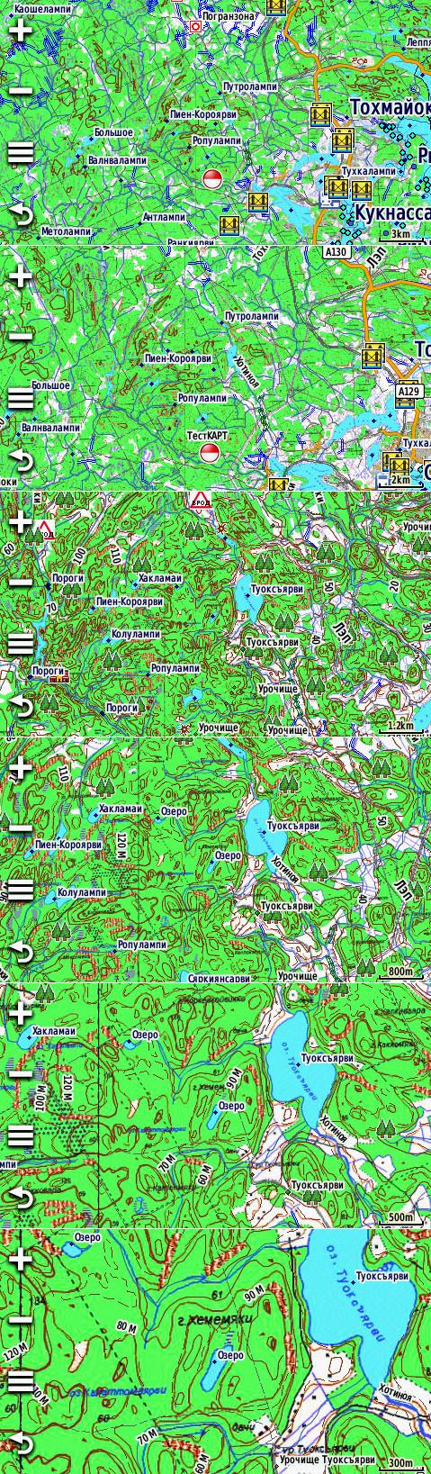 Растровые карты для Garmin JNX и IMG