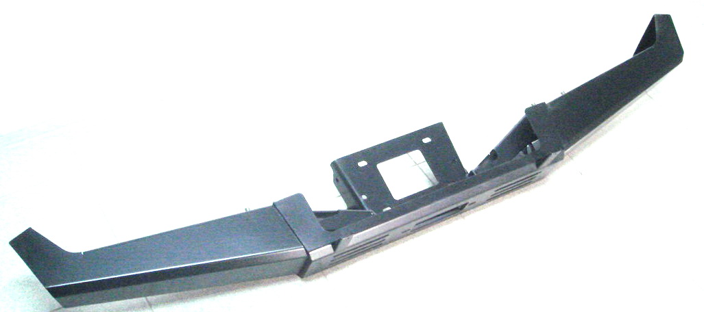 Бампер F-Design для Нивы, под лебедки, передний
